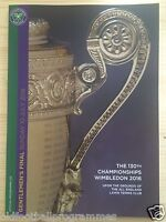 2016 WIMBLEDON MEN FINAL OFFICIAL PROGRAMME (MILOS RAONIC V ANDY MURRAY) DAY 13