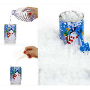 New-Instant-Snow-Man-Made-Magic-Artificial-Snow-Christmas-Decoration-In-UK