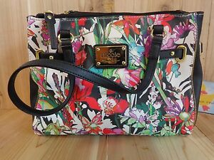 Image Is Loading Nicole By Miller Handbag Purse Fl Red