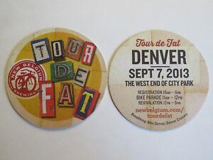 Bière Barre dessous de Verre ~ Neuf Belgique Brewing Tour de Graisse ~ Denver- 2x7fZrNC-09091713-974852892
