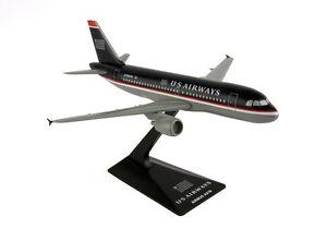 Flight-Miniatures-US-Airways-Airbus-A319-100-Desk-Display-1-200-Model-Airplane