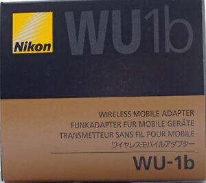 Nikon WU-1b Wireless Mobile Adapter Made in Japan Genuine