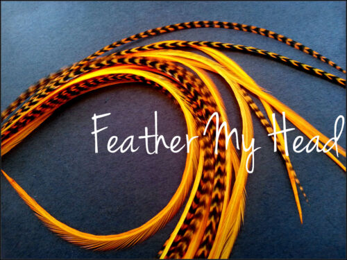 10 PC Feather Extensions PICK YOUR OWN COLORS Salon Pack X-Long Cheap Feathers