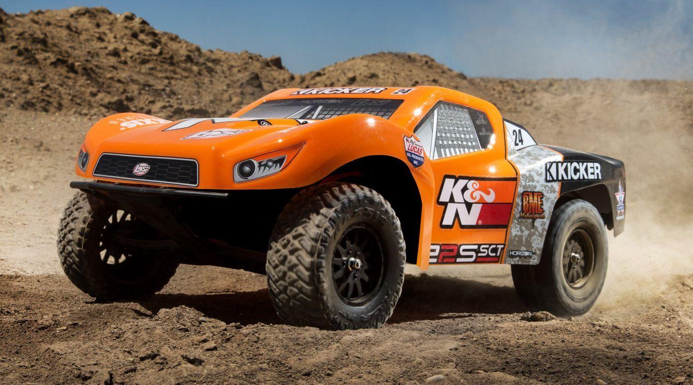 22S K&N 2WD SCT sin escobillas listo para correr con AVC (LOS03013T2)