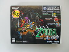 GAMECUBE LEGEND of ZELDA FOUR SWORDS incl. GBA Link Cable Box JP