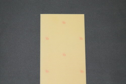 Griglia FORO su scheda senza Rame Edizione Rademacher 500 x 100mm produttore