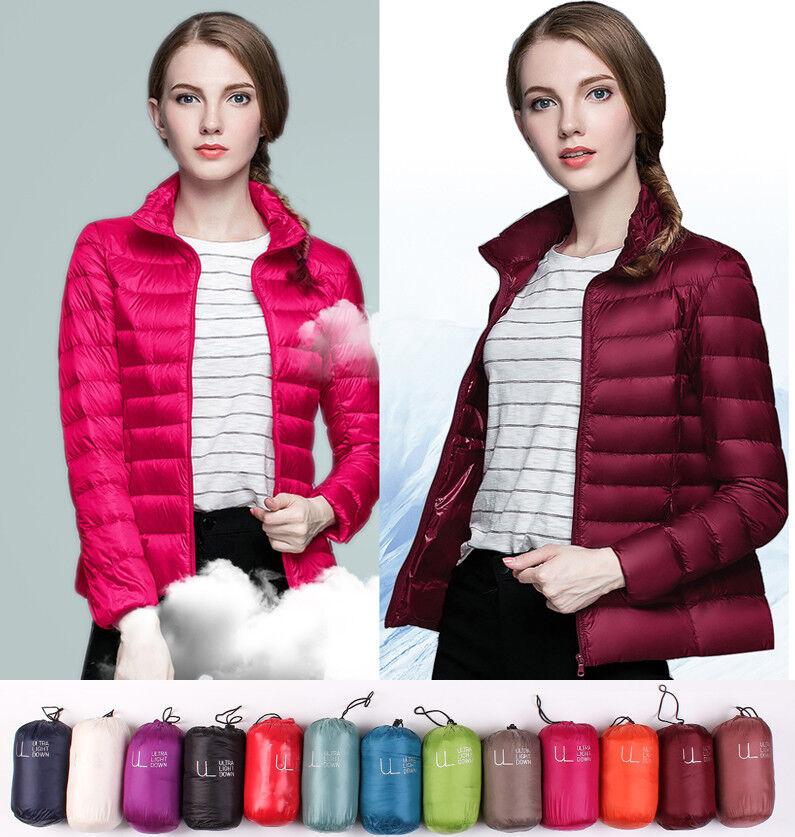 Vente d usine UNIQLO!Manteau puffer pour femme, ultra-léger extérieur, à 90% pour femmes
