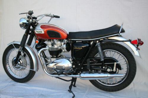 1969 TRIUMPH BONNEVILLE VINTAGE MOTORCYCLE POSTER PRINT 16x24 9MIL PAPER