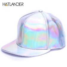 da2107450fe item 2 Shining PU flat brim baseball hats for boys girls solid snapbacks  -Shining PU flat brim baseball hats for boys girls solid snapbacks