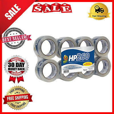 Branded Shipping Packing Carton Sealing Tape Pack of 6 Rolls Free Shipping
