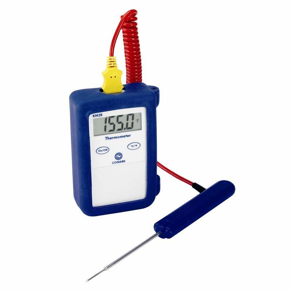 Brand New Comark KM28 Thermomètre avec PK19M sonde-LIVRAISON GRATUITE