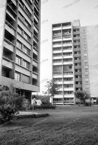 Negativ Bern Bethlehem Schweiz Gebaude Moderne Architektur Um 1960