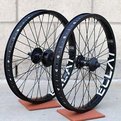 ECLAT BMX BIKE CORTEX BICYCLE FREECOASTER HUB BLACK RHD PRIMO CULT ODYSSEY