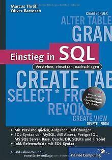 Einstieg in SQL: Inkl. SQL Syntax von MySQL, Access, SQL... | Buch | Zustand gut