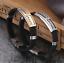 Armband-Edelstahl-Armreif-Silber-Gold-fuer-Herren-Maenner-Schwarz-Damen-Silikon Indexbild 1