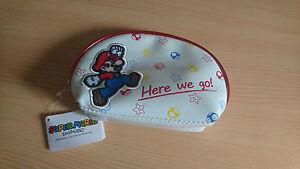 Petite Housse fermeture éclair Nintendo Super Mario neuve avec étiquette