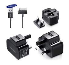 GENUINE SAMSUNG GALAXY TAB 2 / 10.1 / NOTE 10.1 / USB MAINS WALL CHARGER | BLACK
