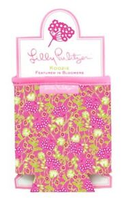 Lilly Pulitzer Drink Hugger Koozie Bloomers Pink Can Water