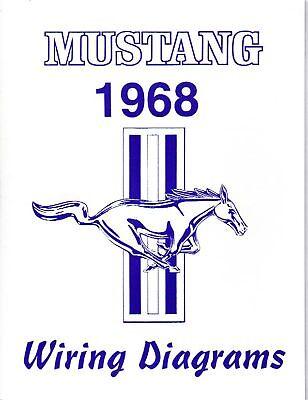 1968 MUSTANG WIRING DIAGRAM MANUAL | eBay