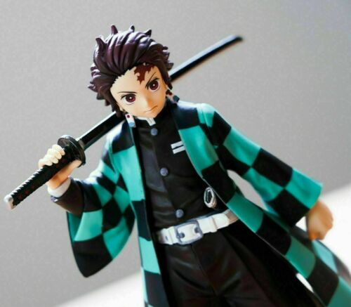 "Kimetsu no Yaiba Tanjiro Kamado 5.5/"" Action Figure Toy W// BOX Demon Slayer"