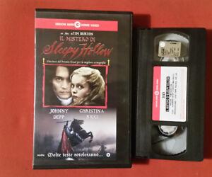 Belle Il Mistero Di Sleepy Hollow (1999) Tim Burton, Johnny Depp - Vhs 1° Cgh Video Achat SpéCial
