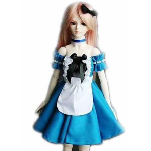 247# Blue Dress//Shirt//Suit//Outfit 1//3 SD DZ DOD AOD BJD Dollfie wamami