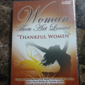 Woman-Thou-Art-Loosed-Thankful-Women-6-DVD-039-S-included