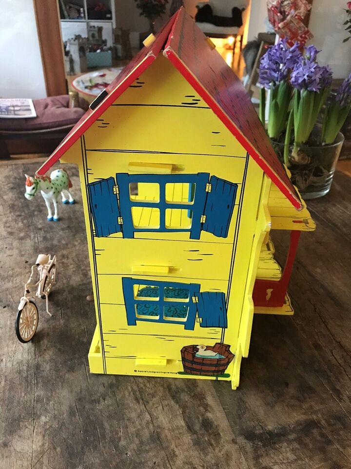 Dukkehus, Pippi Langstrømpe Hus og figurer , Pippi