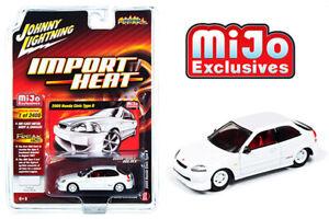 Johnny-Lightning-1-64-Import-Heat-2000-Honda-Civic-Type-R-Diecast-Car-JLCP7310