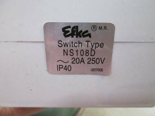 Efka NS108 NS108D Drive Power Switch with Wires Cables NEW FREE FAST SHIPPING