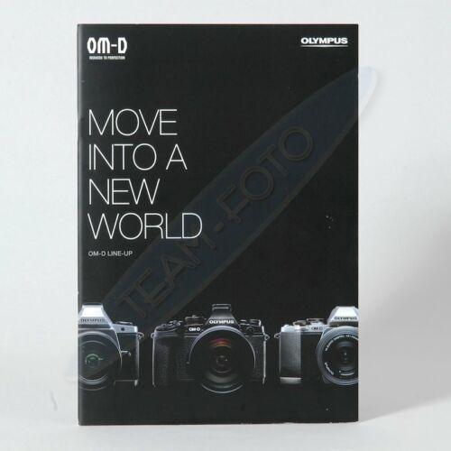 OM-D Move Into A New World Broschüre Olympus Prospekt