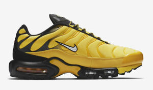 Details about AUTHENTIC NIKE Air Max Plus Frequency Pack Tr Yelllow Black AV7940 700 Men size