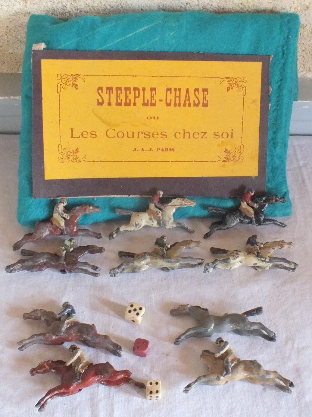 Juego Antiguo Steeple Chase o Carreras Casa