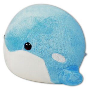 5 Quot Blue Baby Round Puffy Killer Whale Plush Stuffed Animal