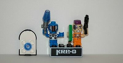 Kre-o Kreo Mini figure Cityville Invasion Collection 3 Jeb Braska Azimuth