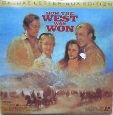 2 Laser Discs How The West Was Won
