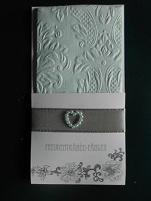 20 Stück Taschentücher, Für Freudentränen,  Hochzeit, mit Herz farbig