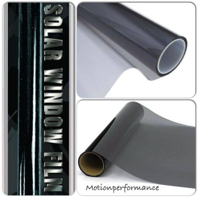 "30"" x 60"" Limo Le Mans Black Car & Home Solar Glass Window Safety Tint Film Kit"