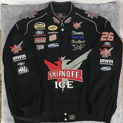 (6XL) Roush Racing Jacket Smirnoff Ice Jamie McMurray #26 NASCAR - EXCELLENT!