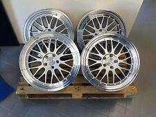 19 Zoll Ultra UA3 Alu Felgen 5x112 Silber Gutachten für GTI S3 A3 R 32 20 A250