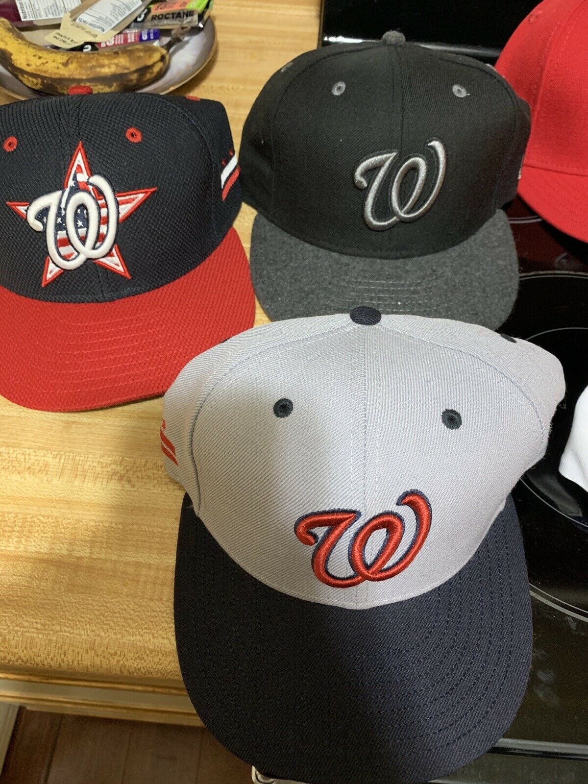 Washington Nationals, Capitals, Tampa Bay, (lot of 16 hats)