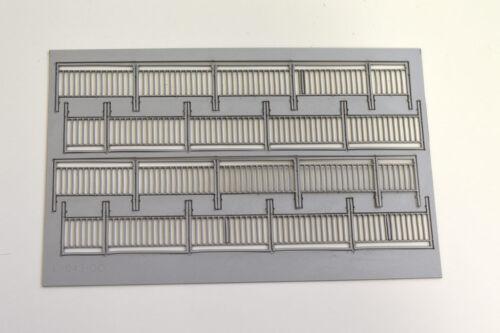 20 x Laser Schliff Fußgänger Geländer Typ 1 Maßstab oo 1:76 Modell Eisenbahn