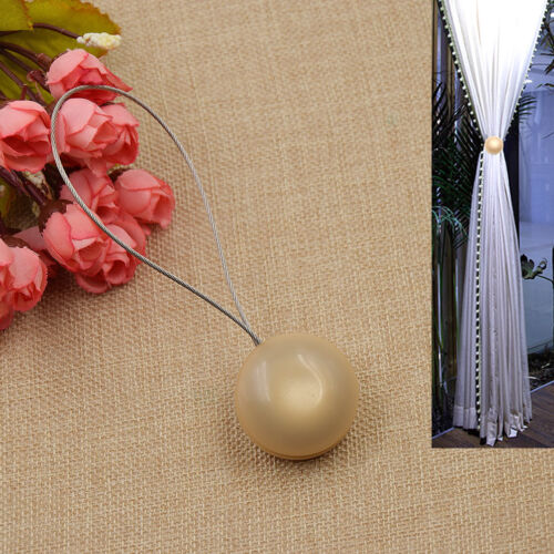 1 Pc Hemispherical Magnetic Curtain Tiebacks Curtain Holder Simple Style