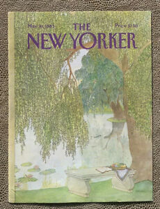 COVER-ONLY-The-New-Yorker-Magazine-May-30-1983-Jenni-Oliver