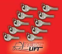 Genie Boom Lift Key Set Lot Of 10 - Fits S-40 S40 S-45 S45 S-60 S65 Boomlift