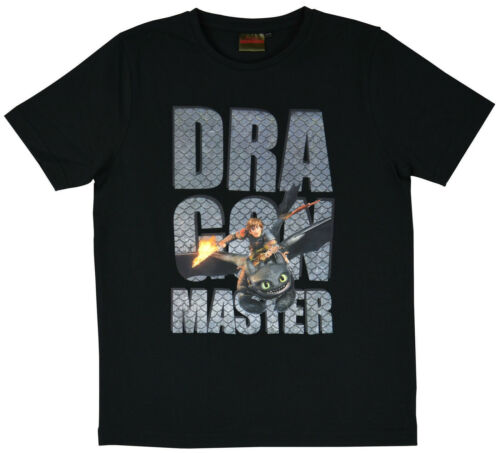 T-Shirt 152//158 Drachenzähmen leicht gemacht Dragons