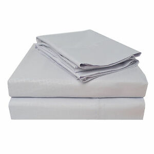 WRINKLE FREE SHEET SET CROCODILE-LILAC