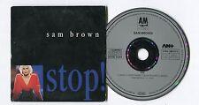 Sam Brown cd-maxi STOP! © 1988 - A&M - # 390 317-2 west germany - EU-4-Track-CD