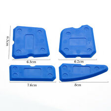 4PCS Blue Remover Kit Box Caulking Tool Joint Set Scraper Sealant Silicone Tools