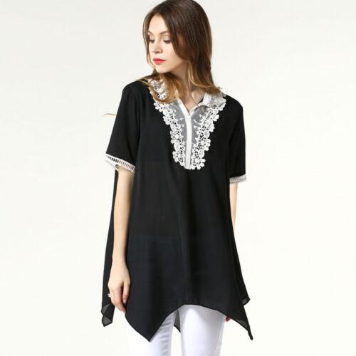 Women Casual Party Club Dress Top Blouse AU Size 14 16 18 20 22 24 26 28 #21011
